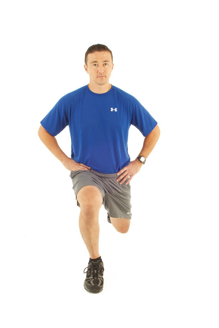 The lunge an effective lower body training exercise