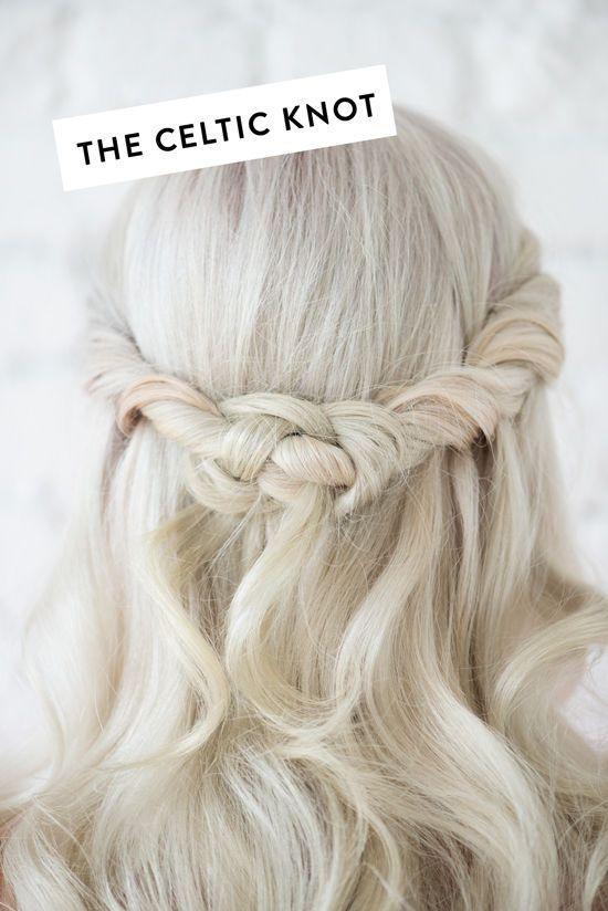 Half up half down wedding hairstyles : D E S I G N L O V E F E S T » 4 HAIR STYLES UNDER 4 STEPS!