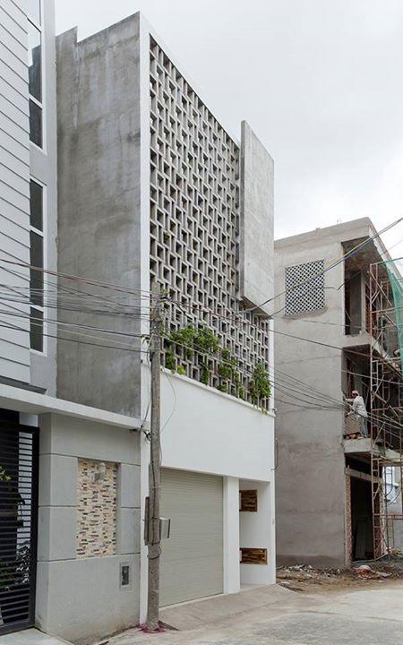 facade ...Cladding cement block