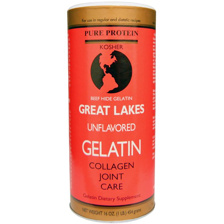 Great Lakes Gelatin Co., Beef Hide Gelatin, Collagen Joint Care, Unflavored, 16 oz (454 g)
