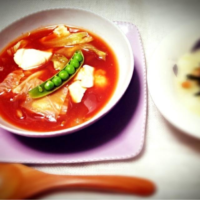 バルサミコ酢でさっぱり - 23件のもぐもぐ - トマトスープ by naruco2