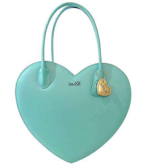 Because one heart bag is simply not enough and it's the perfect minty turquoise!