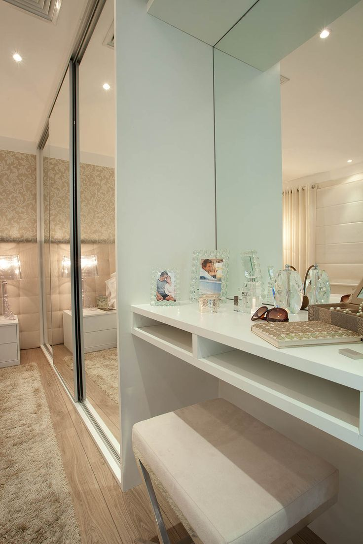Apartamento Idylle / GS+AD #bedroom #vanity
