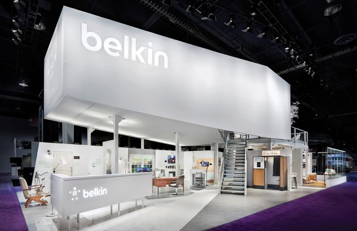 Kubik Exhibition Stand View : Belkin expo we ll be doing a few mezzanine stands this