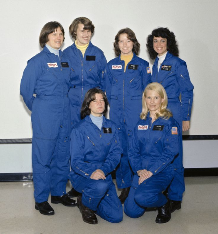 NASA's astronaut class of 1978 included the first women and African-American to be selected.
