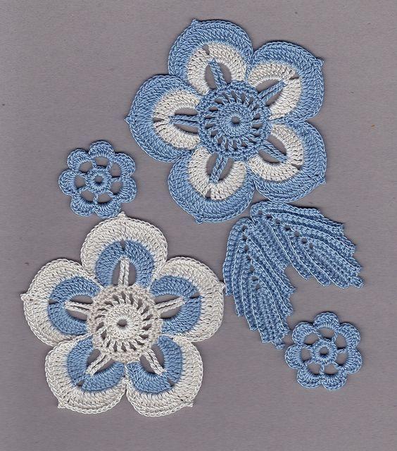 Letras e Artes da Lalá: Crochê irlandês - foto: www.pinterest.com