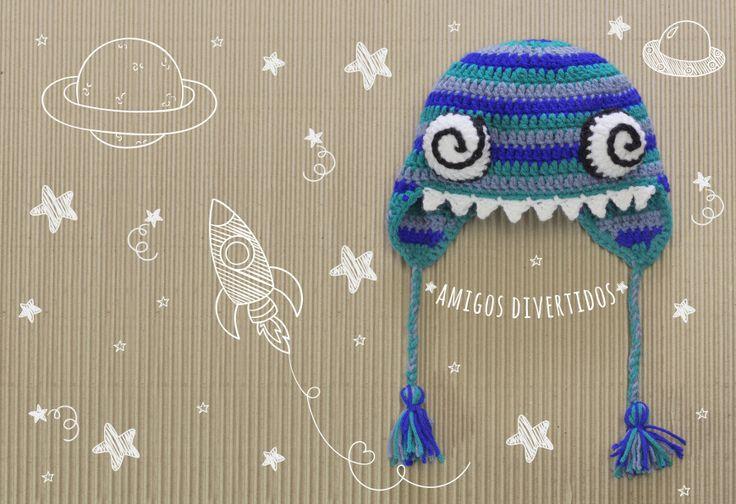 ojos #maquis #fw16 #crochet #gorro #ojos #dientes #hechoamano
