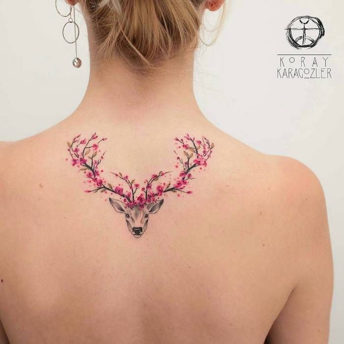 ▷ 1001 + coole und effektvolle Kirschblüten Tattoo Ideen