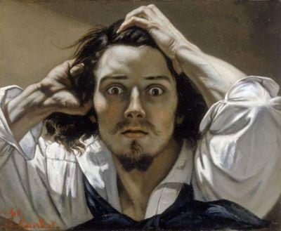 """""""Le désespéré"""" de Gustave Courbet"""