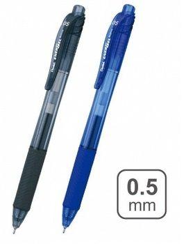 Ручка роллерная автоматическая с грипом Pentel Energel, 0,5 мм (BLN105)