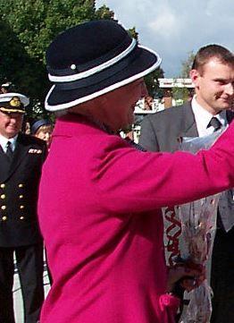 Queen Margrethe, September 14, 2001