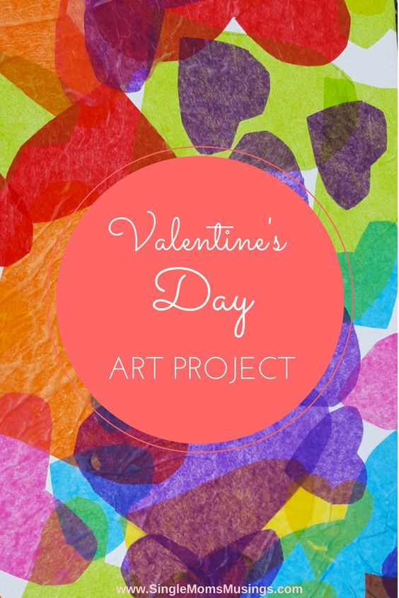 Fun, easy and fast Valentine or anytime art project for kids! Bond with your child through art and play!
