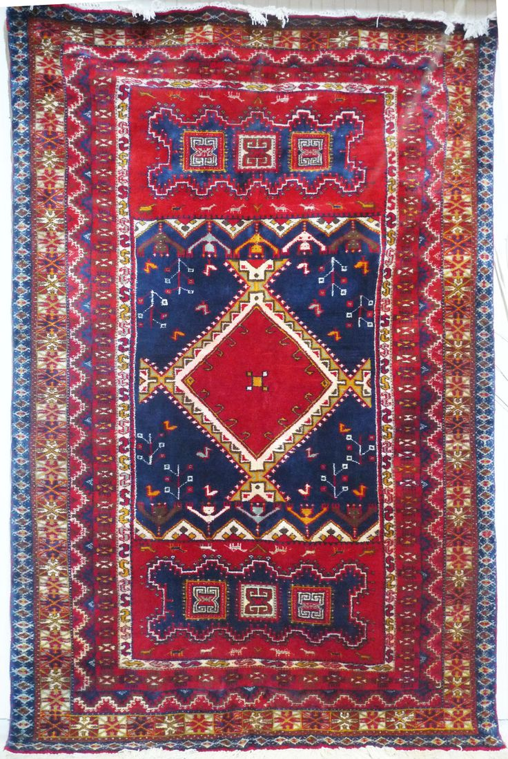 Very Clical Moroccan Piece The Intricate Details Are Reminiscent Of Rbati Rug