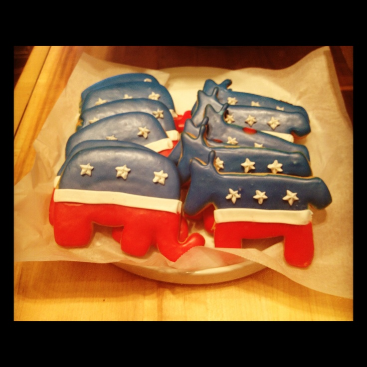 Political Party Cookies from Dean and Deluca!