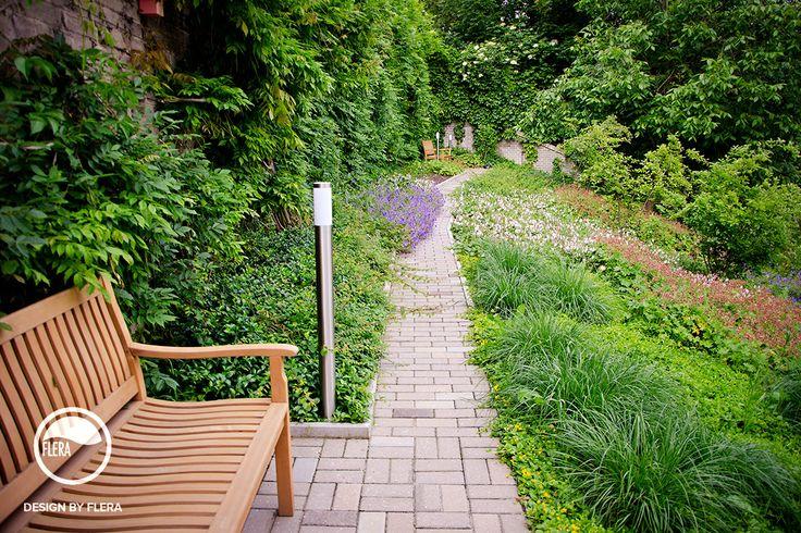 Záhradný kútik s posedením