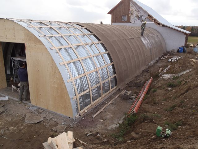 Quonset Hut Home Interiors Burying A Quonset Hut