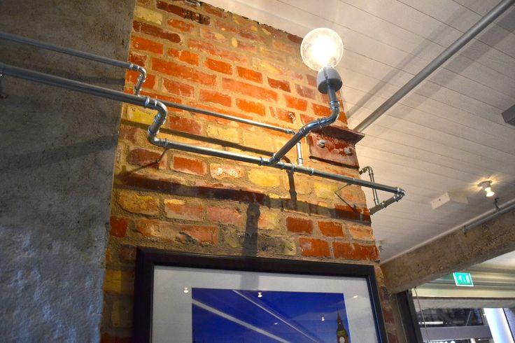 """Блог Мальмовчанки: Медные трубы в интерьере ресторана """"Fabriken"""""""