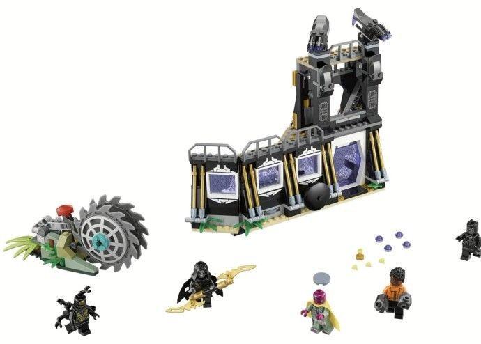 Lego 76103 Lego Marvel Super Heroes Corvus Glaive Thresher Attack Infinity War Lego Marvel Lego Super Heroes Marvel Avengers Movies