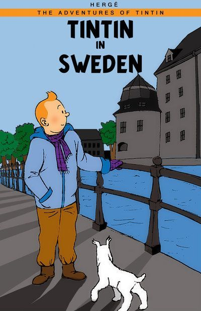 Les Aventures de Tintin - Album Imaginaire - Tintin in Sweden