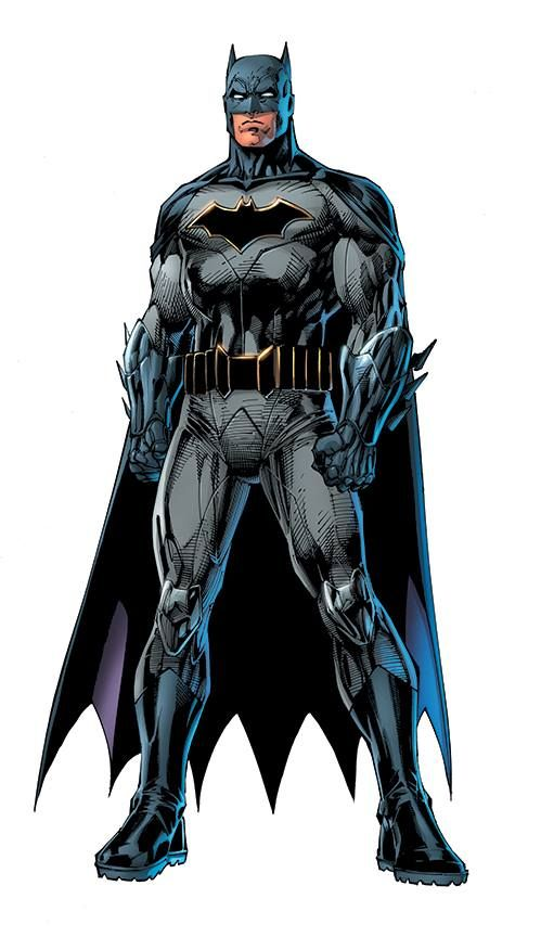 Rebirth: Batman by Jim Lee, colours by Alex Sinclair *