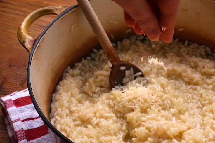 Teach a man to make risotto and feed him for a lifetime.