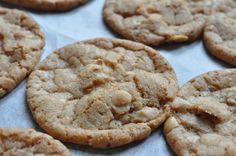 Lækre sprøde cookies med ristede hasselnødder
