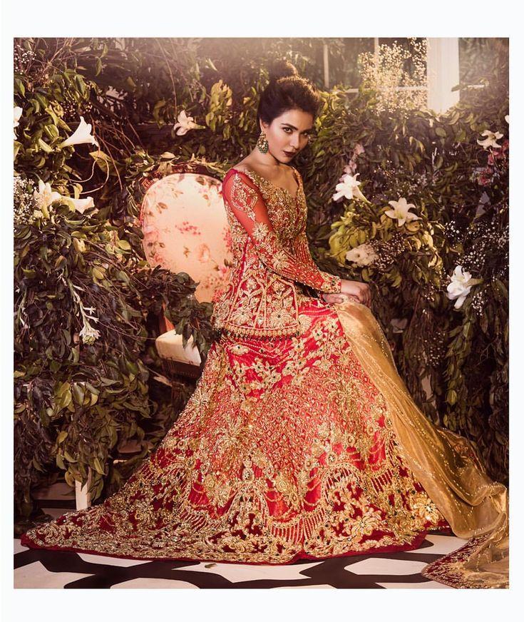 Pakistani couture by Saira Rizwan