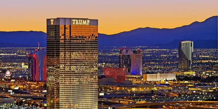 Trump Las Vegas @ Las Vegas -- The Donald's unexpectedly understated Sin City offering, with condo-style rooms, a romantic restaurant and a large spa. #OpenRoomz
