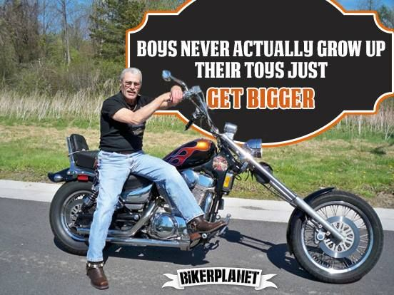 Grown Up Toys For Boys : Best images about biker quotes on pinterest royal