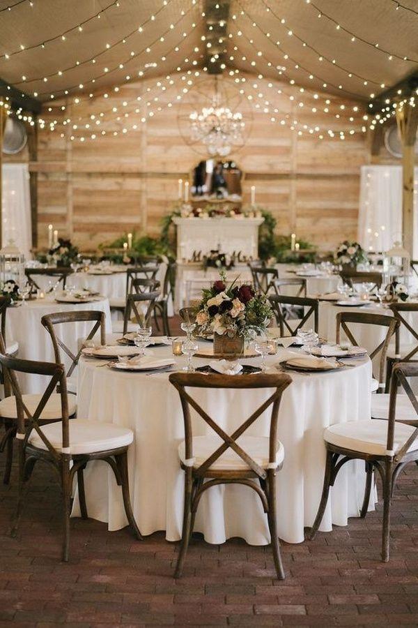 30 schicke rustikale Scheunen-Hochzeitsempfang-Ideen   – Hochzeit idee