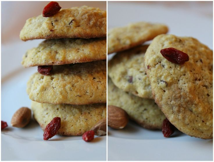 Mat for sjelen...: Goji - Cookies...