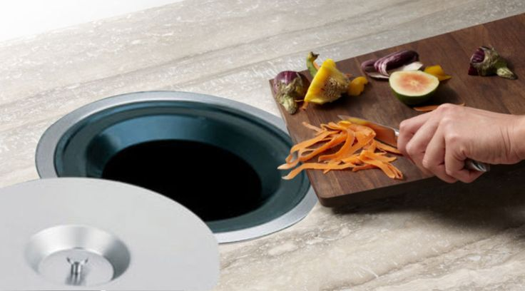 7L Counter Bin from Franci Furniture Fittings is ideal for bar counters as an ice bucket or as a counter bin near a prep bowl for vegetable shavings when preparing your favourite dishes.