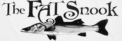 The Fat Snook Logo.  dining,cocoa beach,seafood,restaurants,brevard county,fish,Kennedy Space Center,The Fat Snook,Cocoa Beach Restaurants,P...