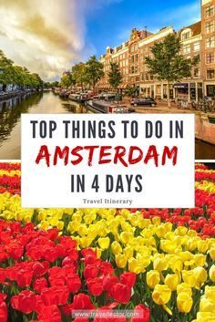 Things to Do in Amsterdam in 4 Days [Travel Itinerary]   Travellector #traveltips #travel #Amsterdam