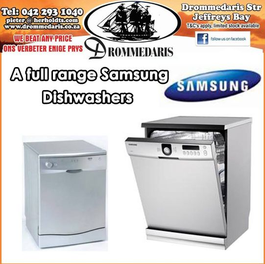 Doing the dishes is never fun unless you have a dishwasher. Why not invest in a Samsung dishwasher from Drommedaris and save yourself time and money? Visit our store and see the full range. #homeimprovement #lifestyle
