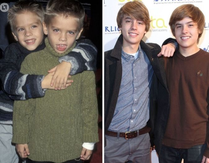 Dylan and Cole Sprouse | Dylan, cole, Cole sprouse actor ...