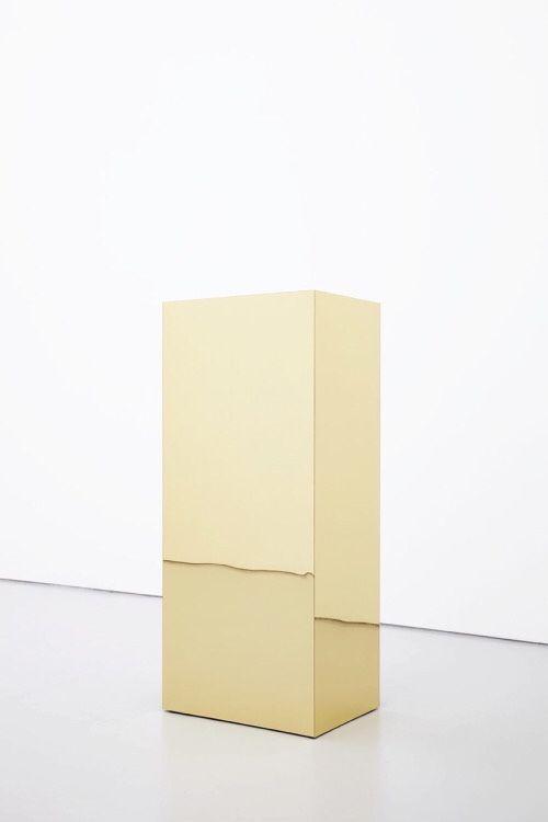 gold brique #contemporary #art