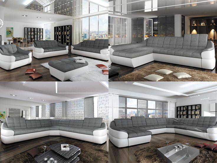 Przedstawiamy MEEEGA wygodną kolekcję mebli tapicerowanych Infinity z linii Avangarde Line. Dostępne są sofy 2 i 3 osobowe, 3 narożniki, fotel oraz puf. Jak Wam się podoba? :)  http://sagameble-sklep.pl/szukaj?search_query=infinity