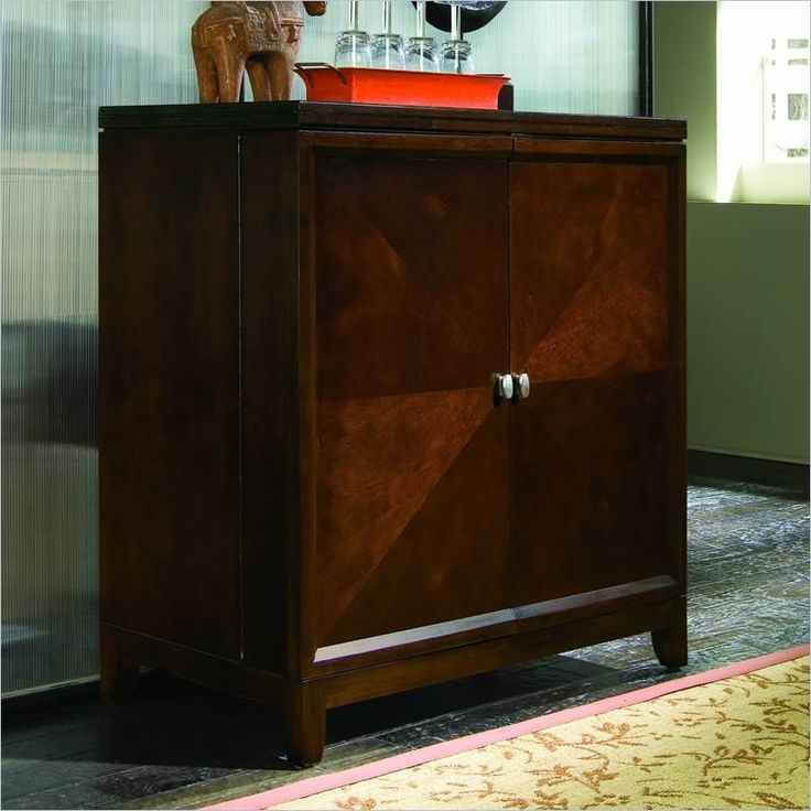 American Drew Tribecca Flip Top Bar | Piano room, Bed ...