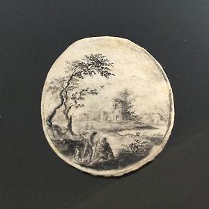 Dessin Original Miniature XVIIIè Georgian Drawing 18thC | eBay