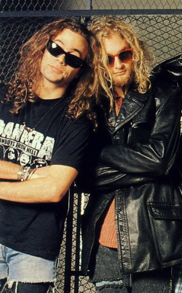 May you both rest in peace...Mike Starr & Layne Staley