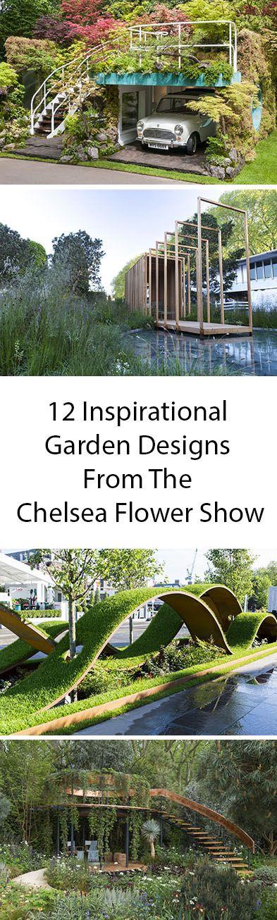12 Inspirational Garden Designs From The 2016 Chelsea Flower Show
