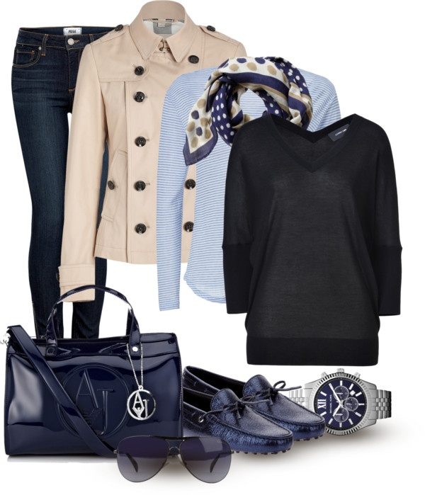 """Airport Attire"" by asorana on Polyvore"