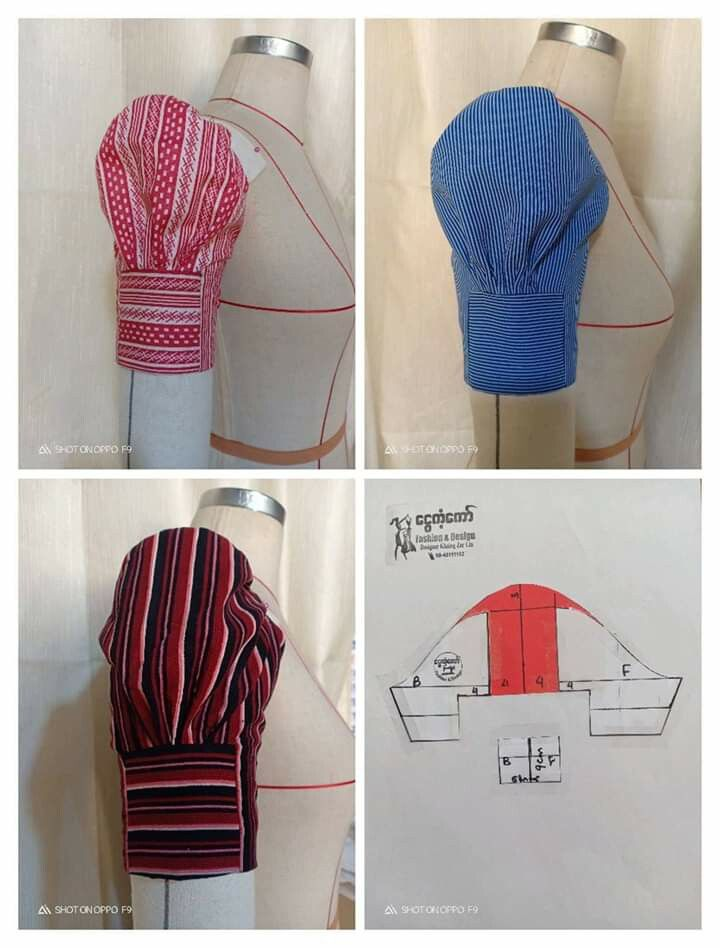 569f903a Pin by NGUYEN NGAN HA on MẪU TAY ÁO | Sewing sleeves, Dress sewing  patterns, Sewing hacks