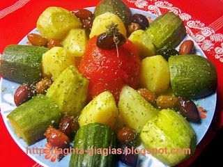 Βραστά λαχανικά σαλάτα