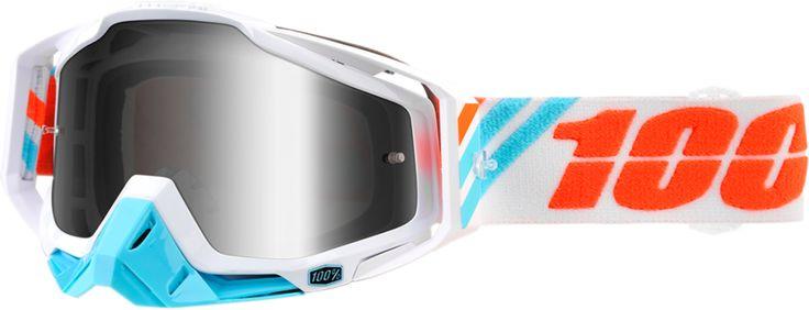 100% RaceCraft Motocross Goggle Anti-Fog Lexan Lens New 2017 New Color Ways