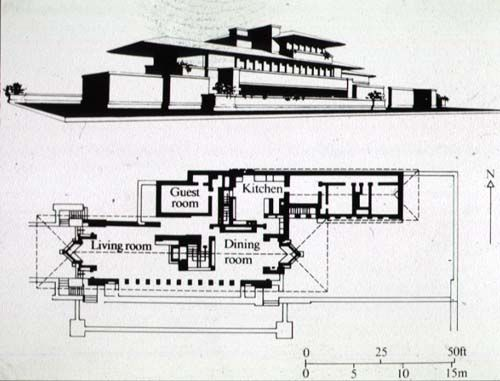 Robie house fl wright floors plans roby house history 19th frank