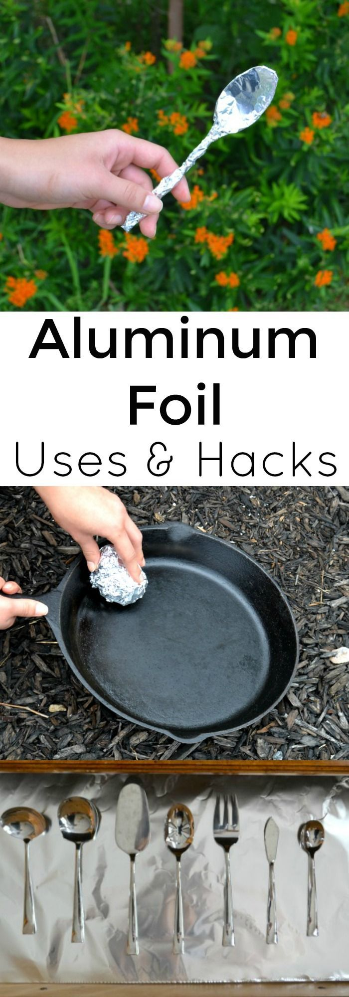 Aluminum can be used for a lot more than lining pans in the kitchen. #ad #sk