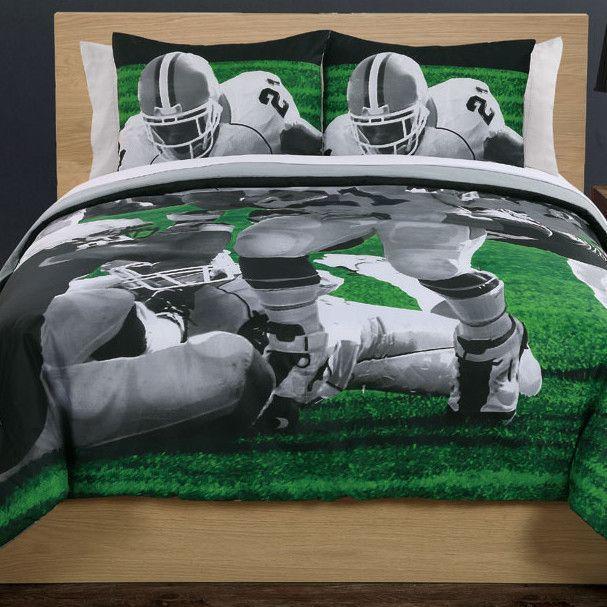 Photoreal Football Running Back Comforter Set