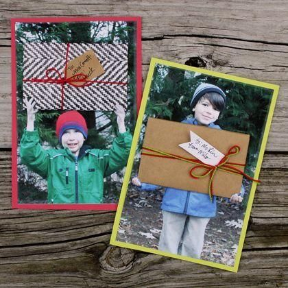 Ways to give a gift card but still make it personal for family, friends, co-workers and thank you cards for holidays, birthdays, anniversaries, etc. personal gift card ideas for teachers too - keepsakes to make - what to do with extra photos